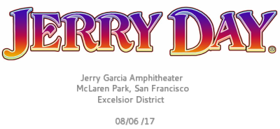 Jerry Day 2017 @ Jerry Garcia Amphitheater, McLaren Park